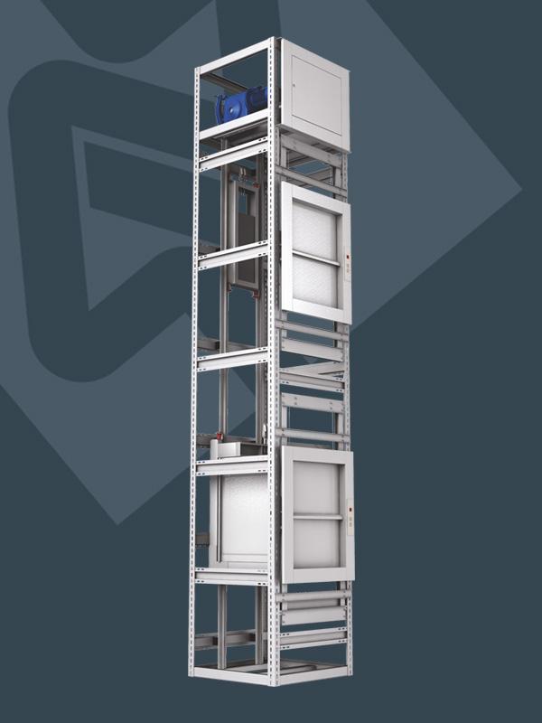 Monşarj asansör nedir