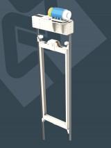 Makine Dairesiz Asansörler İçin Motor Şasesi
