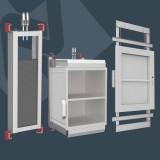 Servis Asansörleri ( Monşarj ) Yemek Asansörü Kapı ve Kabinleri